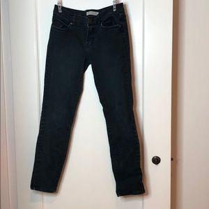 Les Folles De Joie Burnout Black Skinny Jeans